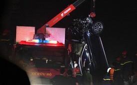 Xác định chủ nhân chiếc xe Mercedes lao xuống sông Hồng khiến 2 người tử vong là một phụ nữ