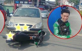 Tài xế GrabBike va chạm giao thông, nhưng tâm trạng thay đổi 180 độ của anh mới là thứ khiến dân mạng chú ý