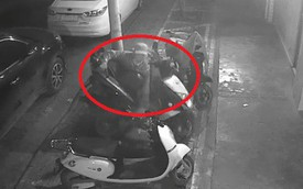 """3 giờ sáng thanh niên đi trộm xe máy, pha """"chốt hạ"""" khiến người xem không ngừng kinh ngạc"""