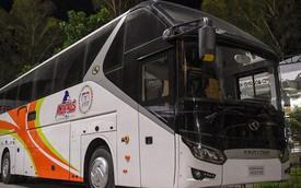 Tuyển Philippines dùng xe bus hiện đại như của Barcelona, đến tuyển Việt Nam cũng phải ao ước