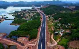 Cận cảnh cao tốc 12.000 tỉ xuyên rừng kết nối với sân bay Vân Đồn