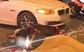 Hà Nội: Va chạm mạnh với xe BMW ngã xuống đường, nữ sinh viên bị xe buýt cán tử vong