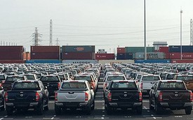Tuần cuối năm, người Việt chi 68 triệu USD nhập ô tô