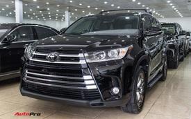 Toyota Highlander Limited 2017 về Việt Nam, giá cao hơn Land Cruiser chính hãng