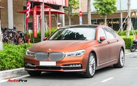 """BMW 750Li """"fake"""" màu hiếm của đại gia Sài Gòn"""