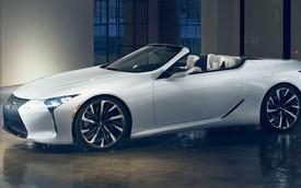 Lexus chốt LC mui trần, công bố lịch ra mắt