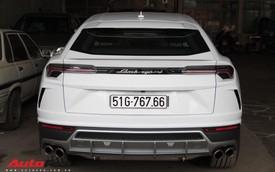 Siêu SUV Lamborghini Urus đầu tiên Việt Nam của Minh 'Nhựa' ra biển 'lộc'