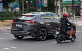 """Không kém cạnh Minh """"nhựa"""", đại gia Nha Trang cũng ra biển trắng cho Lamborghini Urus"""