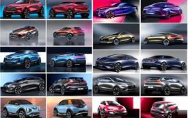 Chiêm ngưỡng trọn bộ 35 thiết kế của 7 mẫu xe VinFast Pre sắp ra mắt