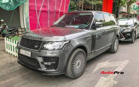 Range Rover Autobiography độ bodykit hàng độc và bộ vành kiểu cánh quạt phi cơ của đại gia Sài Gòn