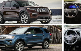 So sánh Ford Explorer 2020 với đời cũ: Cuộc lột xác đáng chờ đợi