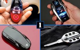 7 chìa khóa xe dân sưu tập nào cũng muốn sở hữu