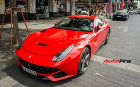 Ferrari F12 Berlinetta đặc biệt nhất Việt Nam của đại gia đồng hồ chục tỷ tại Hà Nội tiến vào Sài Gòn