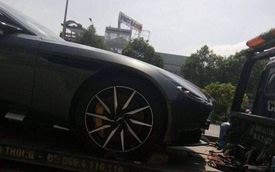 Aston Martin DB11 sử dụng động cơ V8 bất ngờ xuất hiện tại Việt Nam