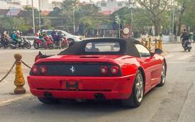 Ferrari F355 Spider độc nhất Việt Nam lăn bánh trên đường phố gây phấn khích giới mộ điệu