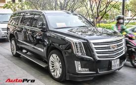 'Khủng long' Cadillac Escalade biển khủng tứ quý 8 của đại gia Sài Gòn
