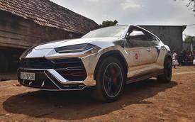 """Minh """"nhựa"""" đưa Lamborghini Urus vừa thay áo mới đi hành trình siêu xe đầu tiên năm 2019 tại Việt Nam"""