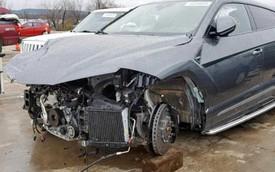 Lamborghini Urus nát đầu được bán lại với giá ngang Porsche 911 mới