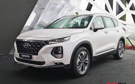Hyundai Santa Fe 2019 Đặc biệt thêm trang bị chuẩn bị về đại lý, giá tăng 5 triệu đồng