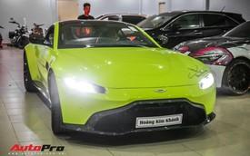 Aston Martin V8 Vantage 2018 mới và độc nhất Việt Nam đã được 'xăm hình' và về tay đại gia có tiếng