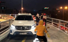 Nóng: Đã xử phạt lái xe Mercedes ngang ngược đi vào cầu cho xe máy!