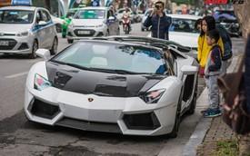 """Lamborghini Aventador Roadster thứ 3 Việt Nam nâng cấp gói carbon """"khủng"""" của Novitec"""