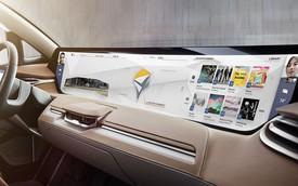 Nội thất xe Trung Quốc sở hữu màn hình to gấp 7 lần iPad trình làng