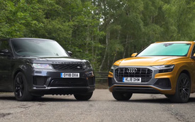 Đây là lý do nhiều người đánh giá Audi Q8 cao hơn Range Rover Sport
