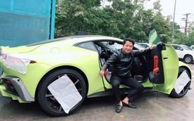Aston Martin V8 Vantage đầu tiên Việt Nam về tay đại gia sở hữu Lamborghini Aventador S
