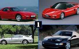 5 dòng xe thể thao Nhật Bản từng khiến Ferrari run sợ vào thập niên 1990