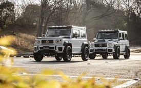 Đây là minh chứng cho thấy Mercedes-Benz G-Class và Suzuki Jimny không khác nhau là mấy