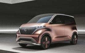 Nissan hé lộ xe đô thị mini ra mắt trong tháng 10