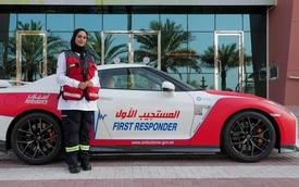 Dubai trưng dụng Nissan GT-R và Chevrolet Corvette cho mục đích cứu thương