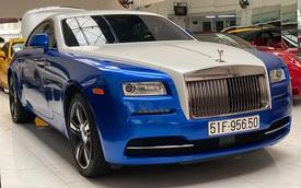 Đại gia Việt biến Rolls-Royce Wraith theo phong cách như dân chơi Trung Đông