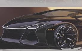 Siêu xe Lamborghini 4 chỗ hoàn toàn mới cần ngay thiết kế này
