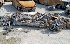Siêu xe Ferrari 458 Spider nát vụn vẫn được rao bán, mục đích mua có thể rất nguy hiểm