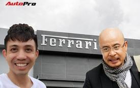 Hé lộ những đại gia Việt tham gia sự kiện khai trương showroom Ferrari chính hãng tại TP. HCM