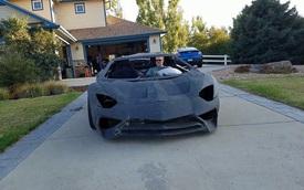 Tự chế thành công Lamborghini Aventador in 3D, danh tính tác giả gây bất ngờ