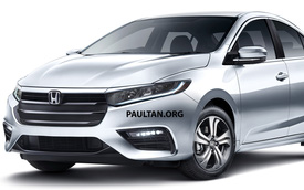 Honda City thế hệ mới sắp ra mắt Thái Lan, chực chờ về Việt Nam