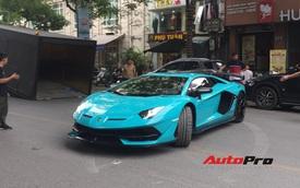 Lamborghini Aventador SVJ độc nhất Việt Nam bất ngờ xuống phố