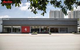 Cận cảnh showroom Ferrari chính hãng đầu tiên tại Việt Nam trước giờ G
