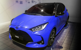 Toyota Yaris mới bất ngờ lộ ảnh: Mới nhìn tưởng C-HR thu nhỏ