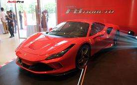 Chi tiết Ferrari F8 Tributo đầu tiên Việt Nam với giá đồn đoán 30 tỷ đồng