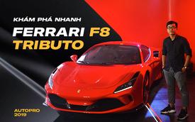 Đánh giá nhanh Ferrari F8 Tributo giá đồn đoán 30 tỷ đồng - siêu xe khiến nhiều đại gia Việt thèm muốn