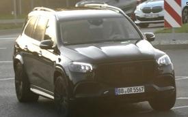 Đấu Rolls-Royce Cullinan, Mercedes-Maybach GLS tiếp tục lộ nội, ngoại thất