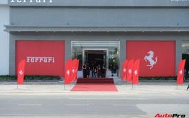 Showroom Ferrari chính hãng khai trương tại Việt Nam nhưng mới chỉ bán siêu xe cũ