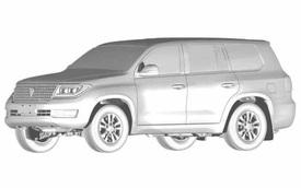 SUV mới của Trung Quốc sắp ra mắt, nhìn nét vẽ 'sương sương' là biết nhái Toyota Land Cruiser