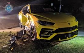 Lamborghini Urus được khen tới tấp vì… gặp tai nạn