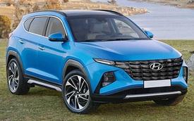 Hyundai Tucson đời mới lộ vóc dáng thể thao