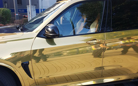 Dán decal chói lóa, chủ xe BMW X5 M bị cảnh sát tịch thu xe vì lý do không tưởng